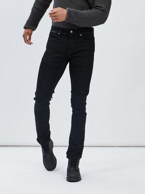 Jeans slim stretch Liberto noir homme