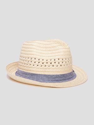 Chapeau borsa ajoure beige