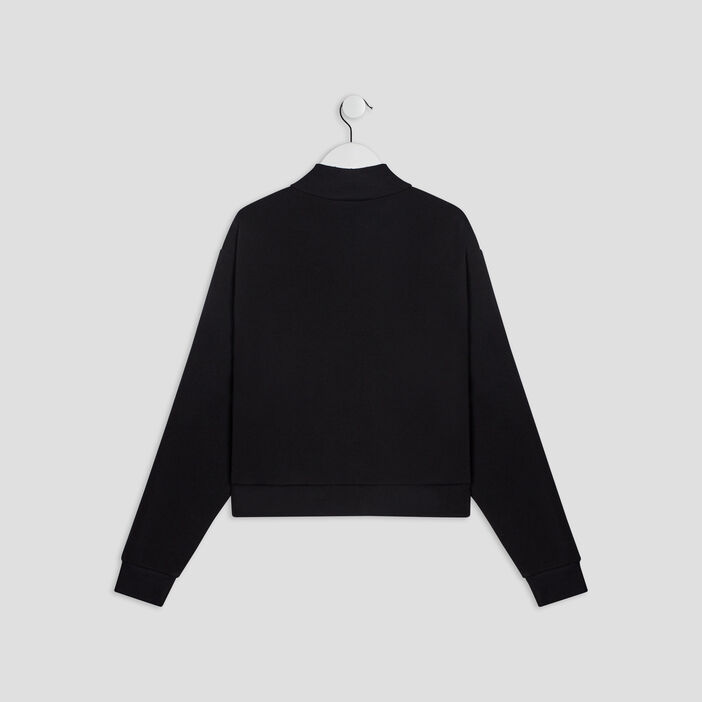 Sweatshirt fille noir
