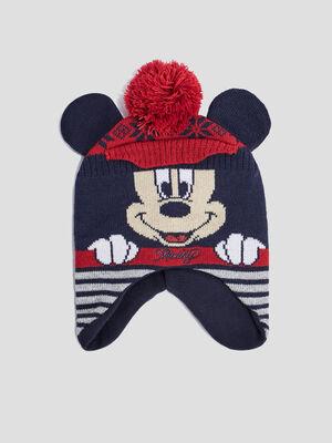 Bonnet peruvien Mickey multicolore bebef