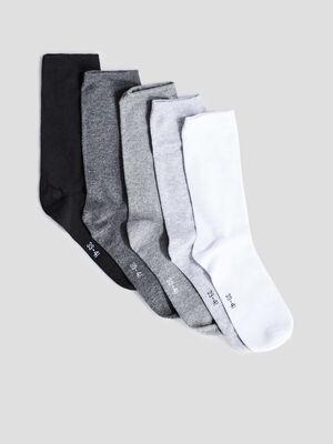 Chaussettes gris