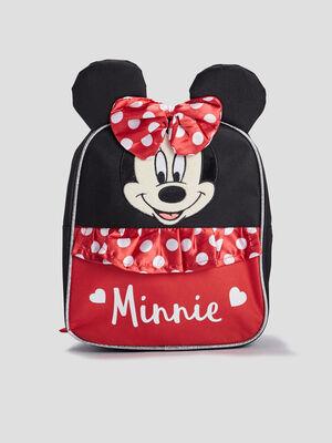 Sac a dos Minnie noir fille