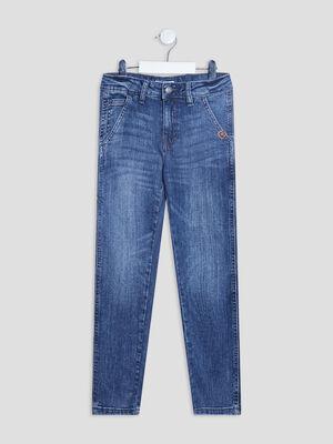 Jeans regular Creeks denim stone garcon