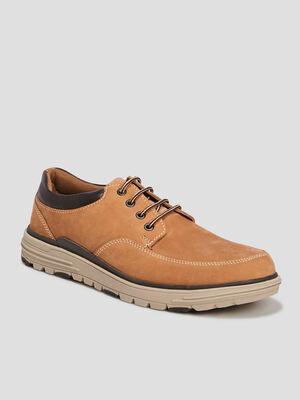 Chaussures bateau Trappeur jaune homme