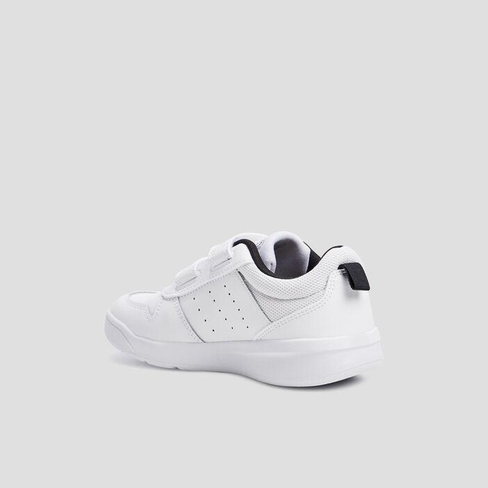 Baskets running Adidas garçon blanc