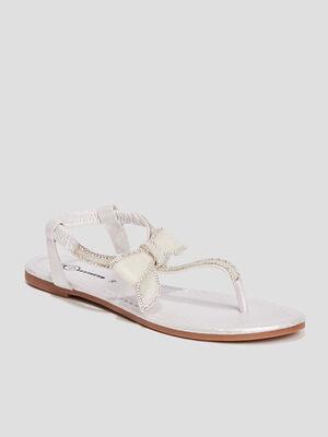 Sandales Mosquitos blanc femme