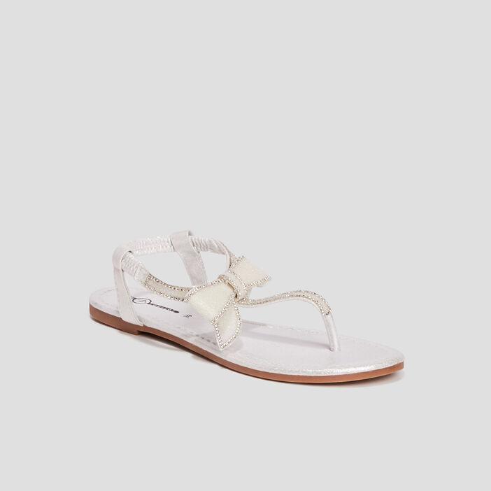 Sandales Mosquitos femme blanc