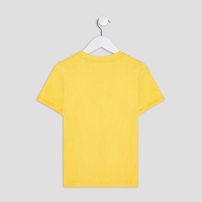 T-shirt manches courtes Mario garçon jaune