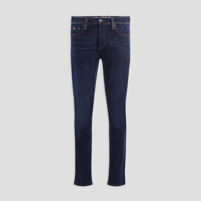 Jeans straight homme denim brut