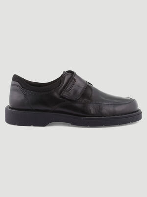 Derbies a scratch bout carre noir homme