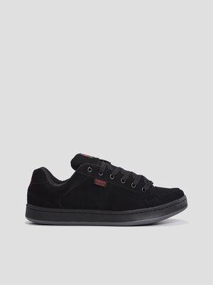 Chaussures de skate unies noir homme