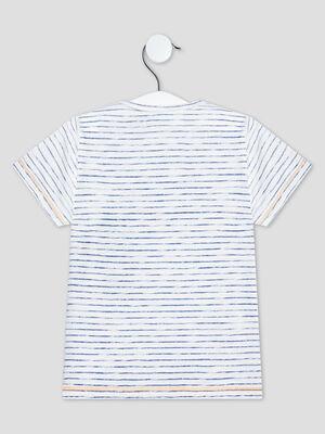 T shirt manches courtes Creeks bleu bebeg