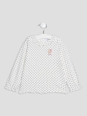 T shirt manches longues gris fonce bebef