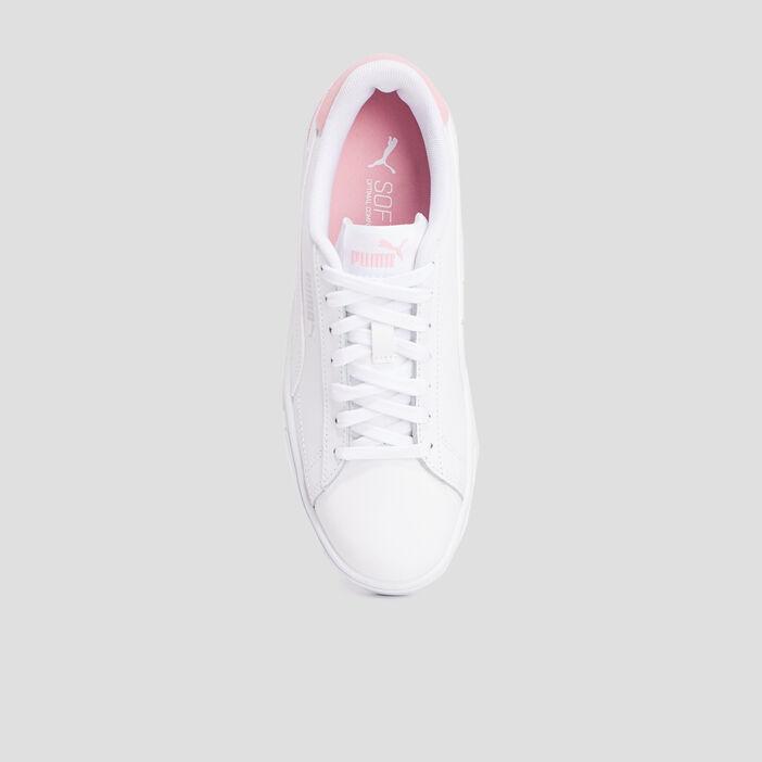 Tennis Puma fille blanc