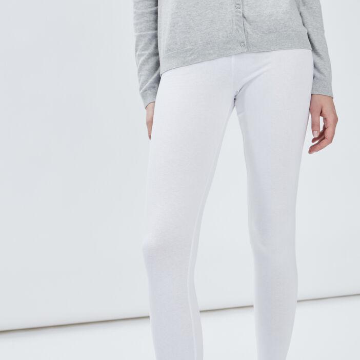 Legging taille standard femme blanc