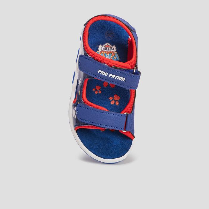 Sandales Paw Patrol garçon bleu