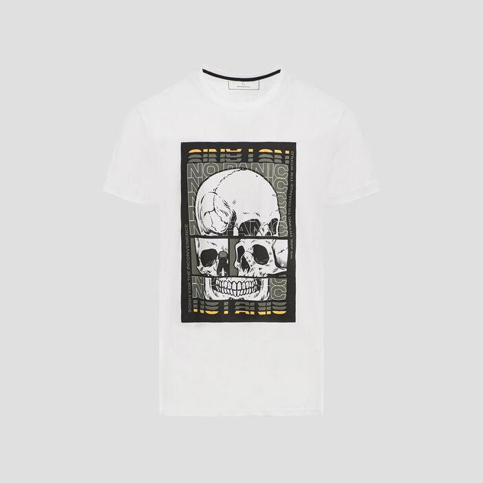T-shirt Liberto homme blanc