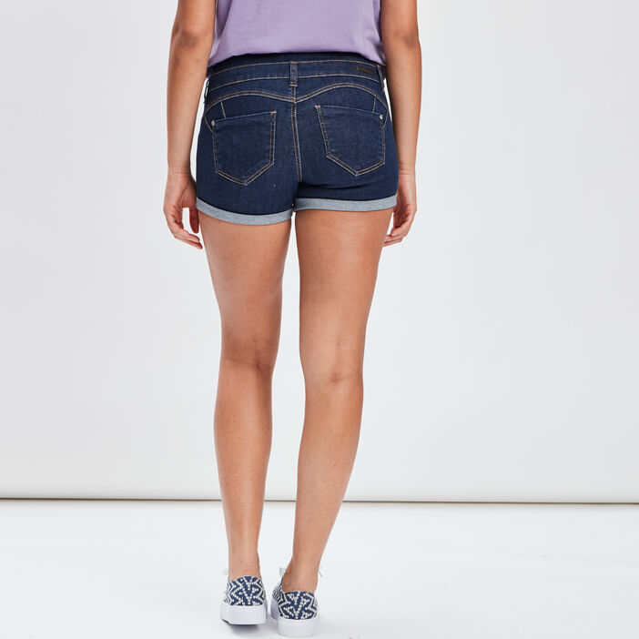 Short slim en jean Mosquitos femme denim stone