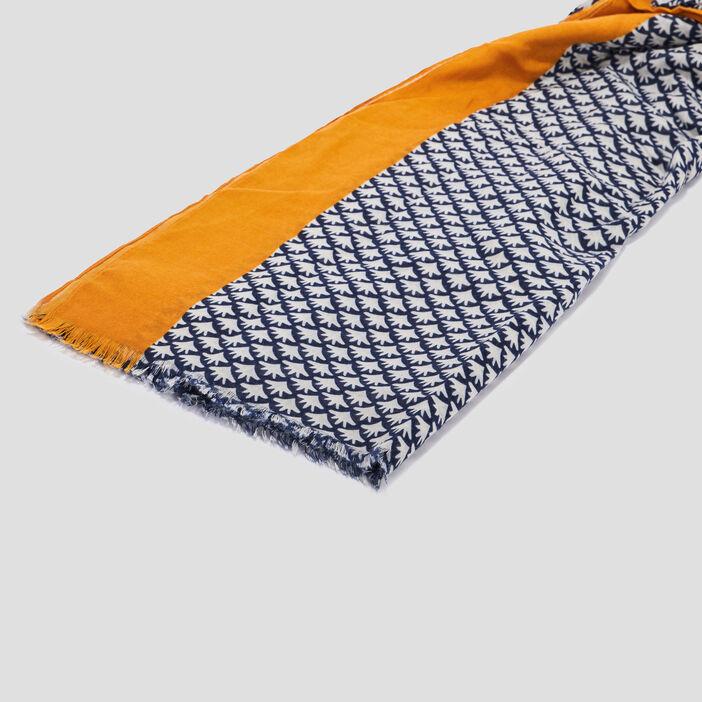 Foulard mixte bleu marine
