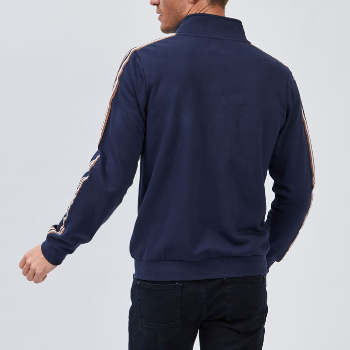 Gilet manches longues Creeks homme bleu marine