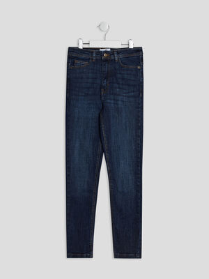 Jeans skinny cropped denim brut fille