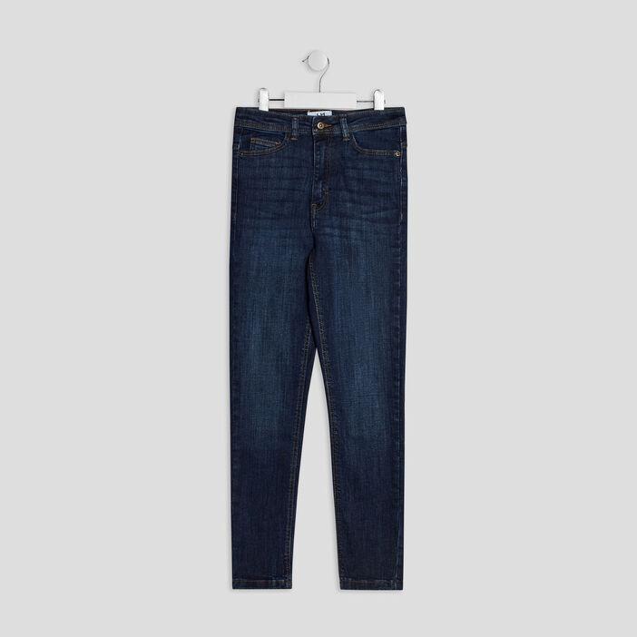 Jeans skinny cropped fille denim brut