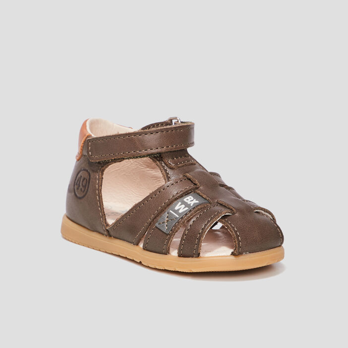 Sandales mixte vert kaki