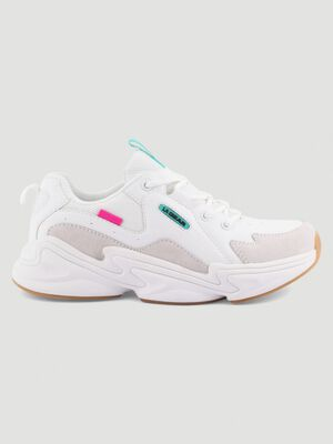 Papa Shoes LA Gear LAZARE blanc femme