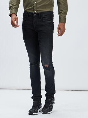 Jeans skinny stretch Liberto noir homme