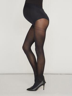 Collants maternite opaque noir mixte