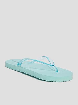 Tongs Wamea Beach bleu turquoise femme