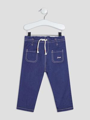 Jeans droit Creeks bleu bebef