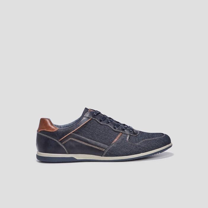 Sneakers en jean homme bleu