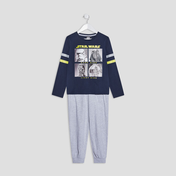 Ensemble pyjama Star Wars garçon bleu marine