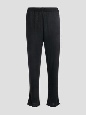 Pantalon de pyjama noir femme