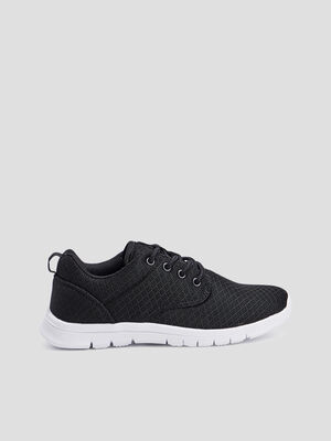 Baskets running noir garcon