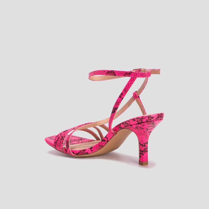 Sandales à talon Mosquitos femme rose