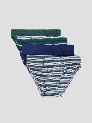 Lot 4 culottes vert homme