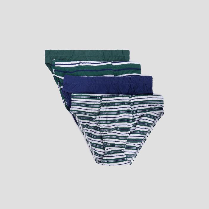 Lot 4 culottes homme vert