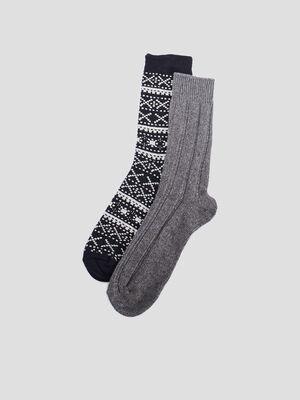 Chaussettes de sport gris homme