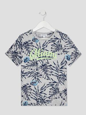 T shirt manches courtes Creeks gris garcon