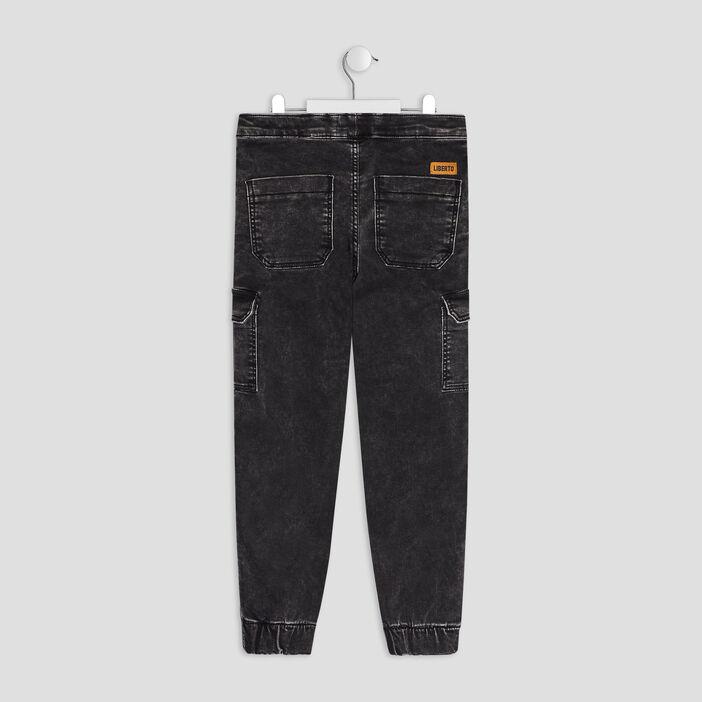 Jeans slim Liberto garçon gris