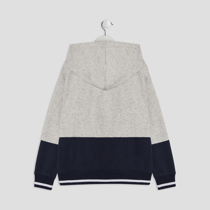 Sweatshirt garçon ecru