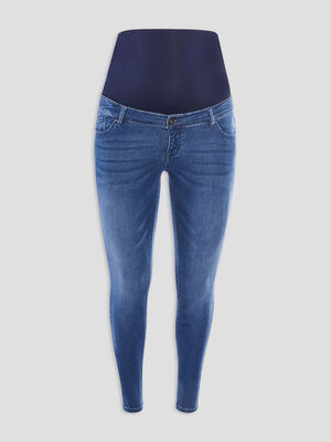 Jeans skinny de grossesse denim stone femme