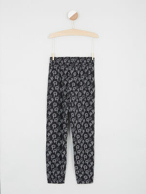 Pantalon noir fille