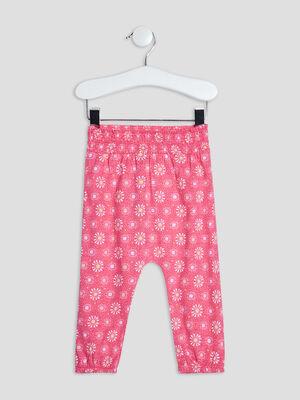Pantalon droit rose fushia bebef