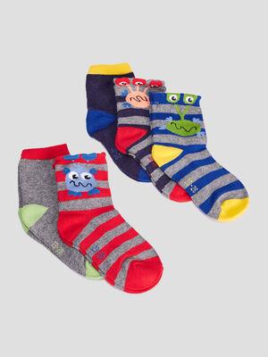 Lot 5 paires chaussettes multicolore bebeg