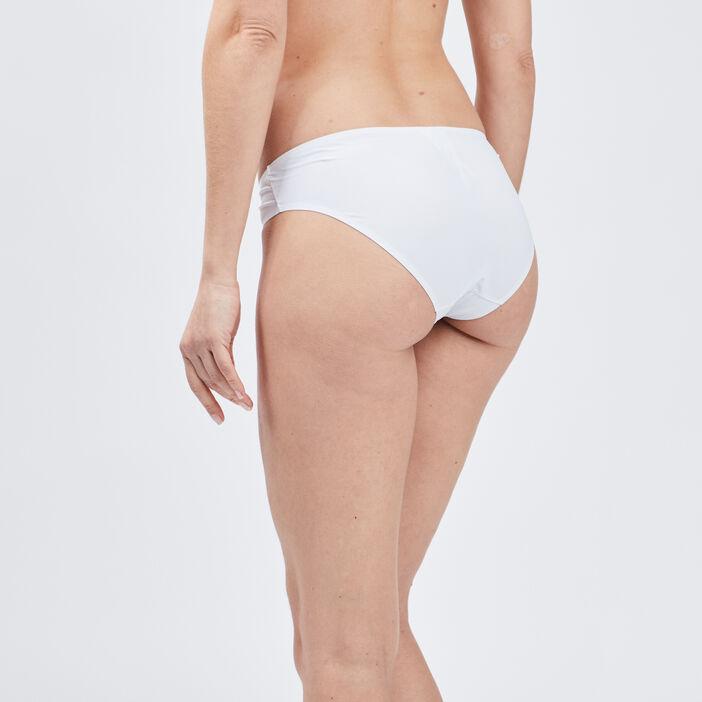 Culotte microfibre femme blanc