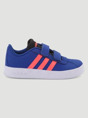 Tennis Adidas VL COURT bleu fille