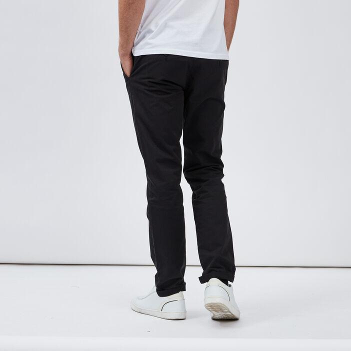 Pantalon droit homme noir